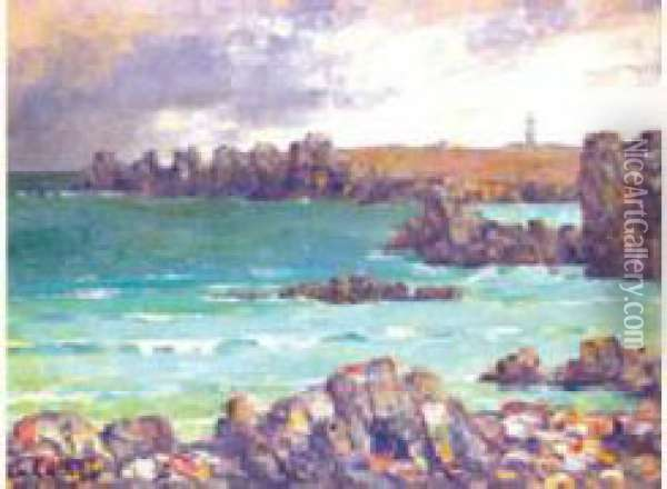 Ouessant  Oil Painting - Charles Cottet
