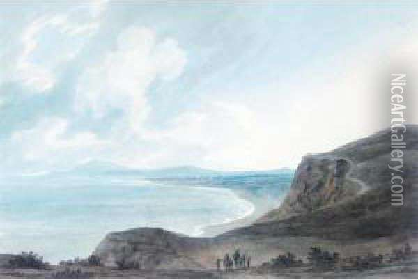 Fano On The Adriatic Oil Painting - John Robert Cozens