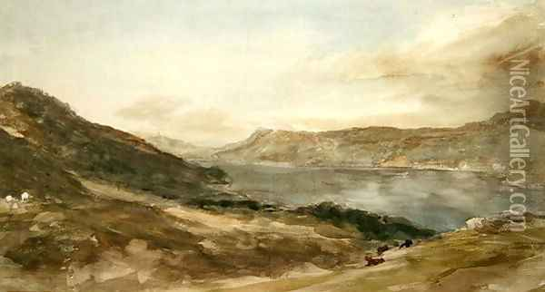 Windermere 1806 Oil Painting - John Constable