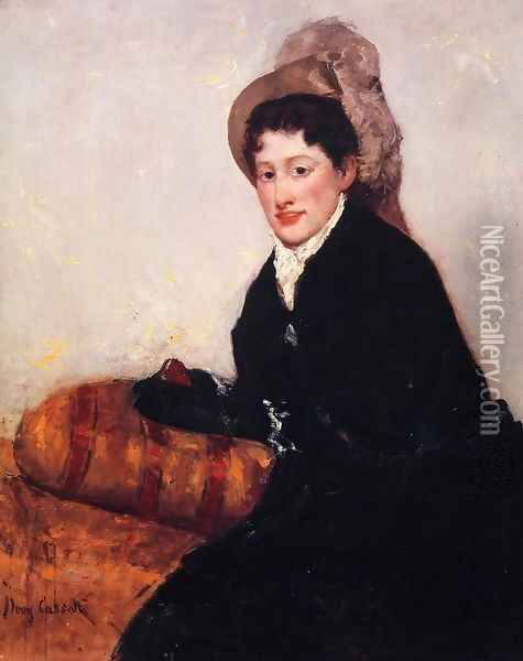 Portrait Of Madame X Dressed For The Matinee Oil Painting - Mary Cassatt
