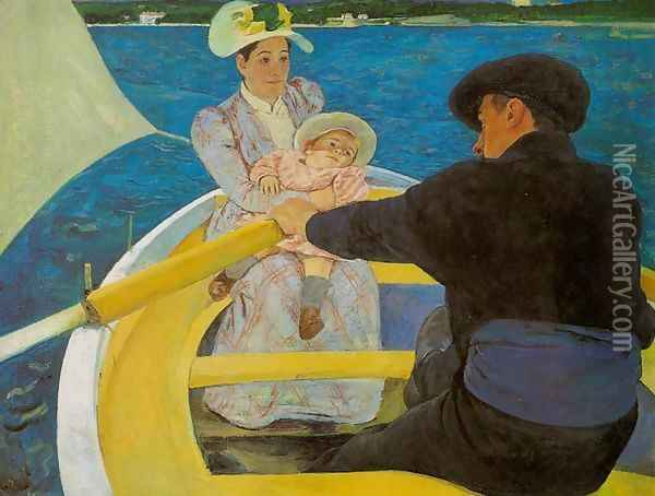 Boating Party Oil Painting - Mary Cassatt