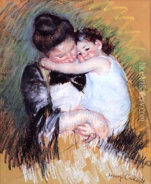 Mother And Child2 Oil Painting - Mary Cassatt