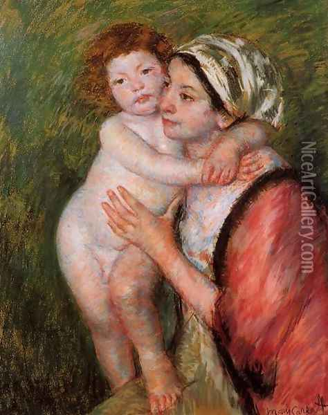 Mother And Child4 Oil Painting - Mary Cassatt