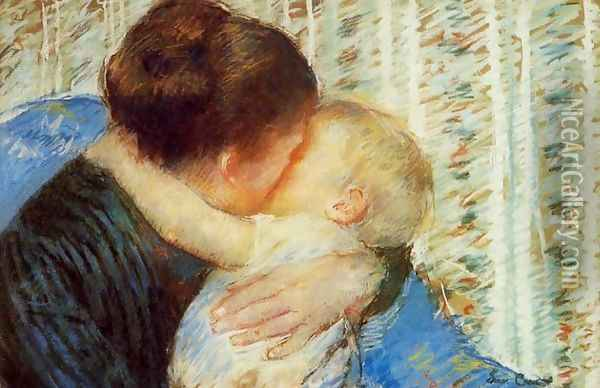 Mother And Child7 Oil Painting - Mary Cassatt