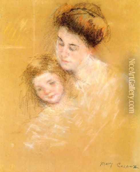Mother And Child6 Oil Painting - Mary Cassatt