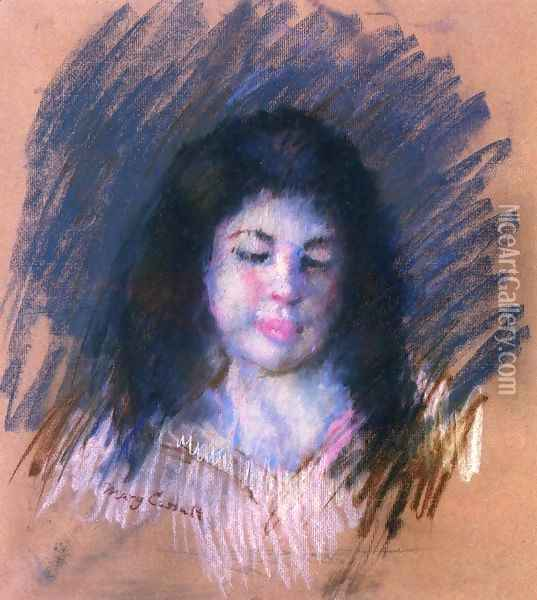 Sketch Of Francoise Oil Painting - Mary Cassatt
