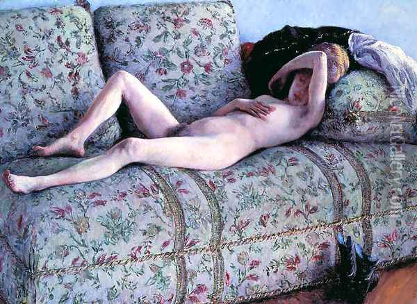 Nude woman Oil Painting - Gustave Caillebotte