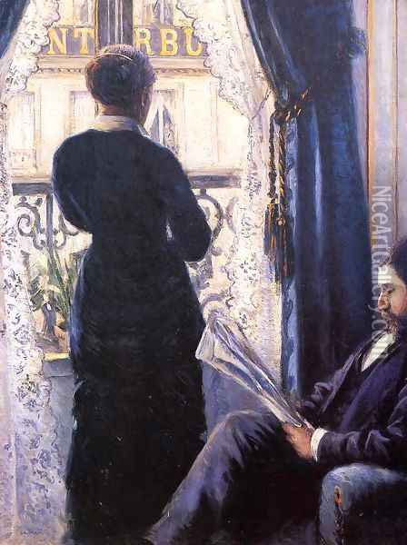 Interior2 Oil Painting - Gustave Caillebotte