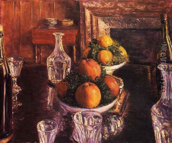 Still Life Oil Painting - Gustave Caillebotte