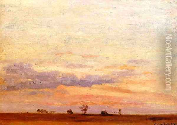 The Briard Plain Oil Painting - Gustave Caillebotte