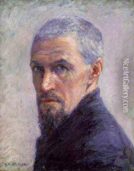 Self Portrait II Oil Painting - Gustave Caillebotte