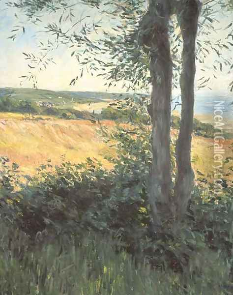 Bord de mer, Normandie Oil Painting - Gustave Caillebotte