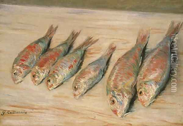 Rougets Oil Painting - Gustave Caillebotte