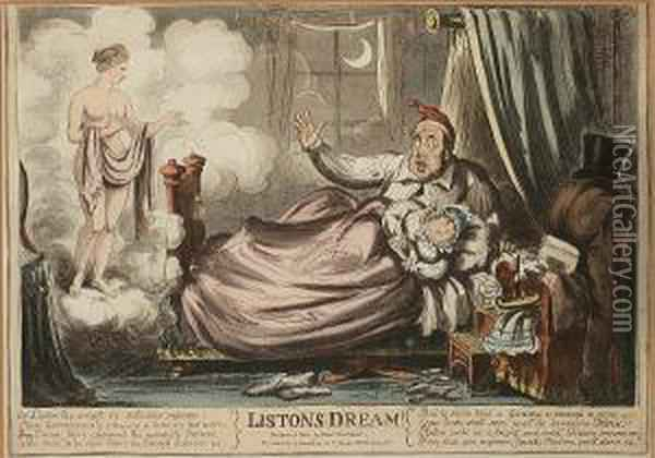 Listons Dream Oil Painting - I. Robert and George Cruikshank