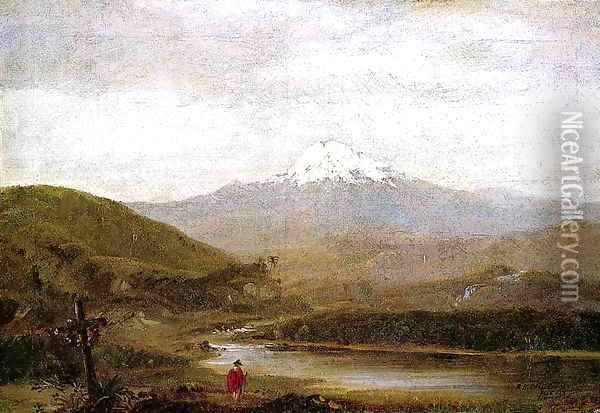 Cotopaxi 2 Oil Painting - Frederic Edwin Church