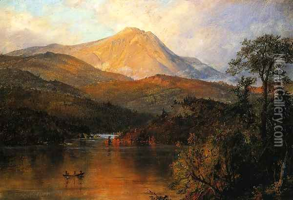 Mount Katahdin I Oil Painting - Frederic Edwin Church