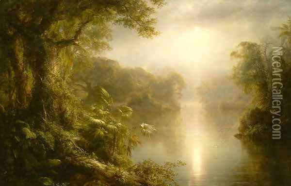 The River of Light Oil Painting - Frederic Edwin Church