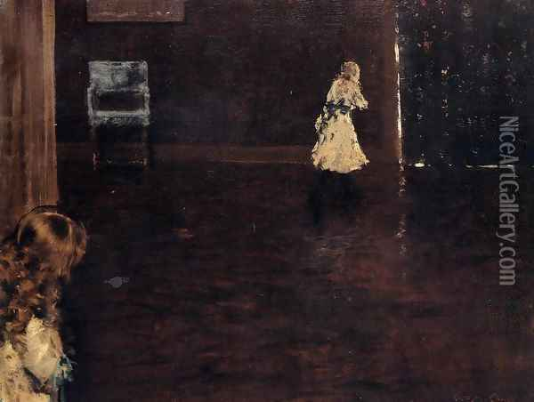 Hide And Seek Oil Painting - William Merritt Chase
