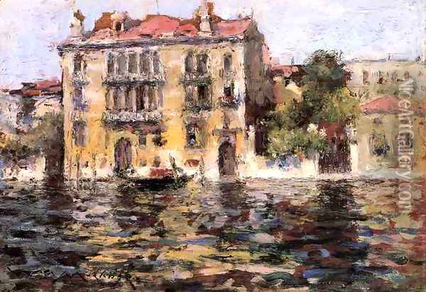 After the Rain Oil Painting - William Merritt Chase