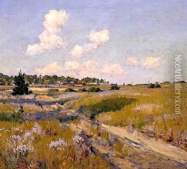 Afternoon Shadows Oil Painting - William Merritt Chase