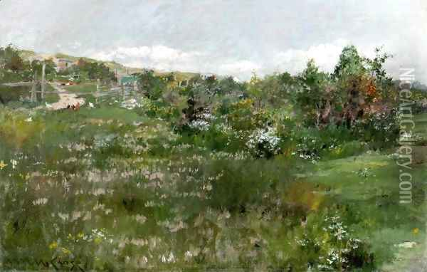 Shinnecock Landscape4 Oil Painting - William Merritt Chase