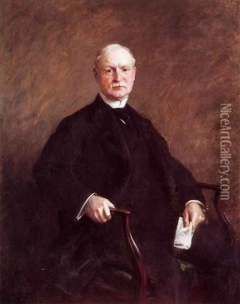 G. Colesberry Purves, Esq. Oil Painting - William Merritt Chase