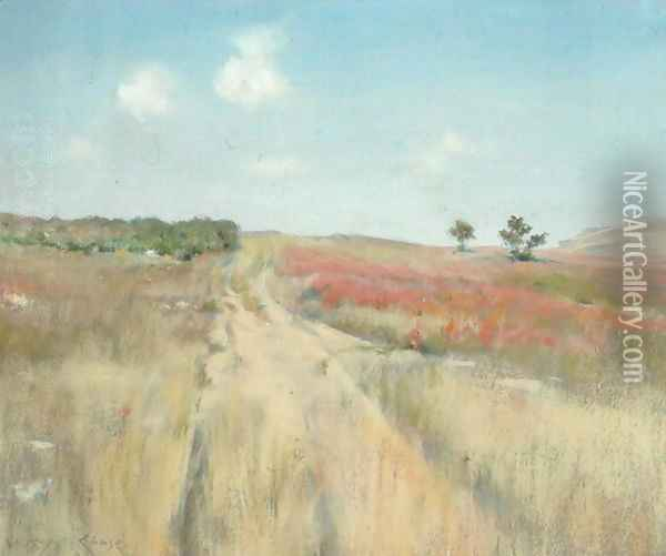 Shinnecock Hills 2 Oil Painting - William Merritt Chase
