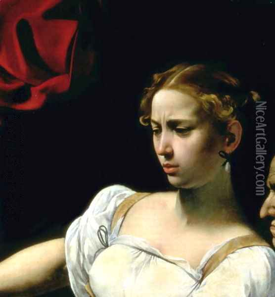 Judith and Holofernes, 1599 Oil Painting - Caravaggio