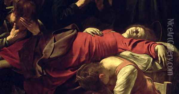 The Death of the Virgin, 1605-06 Oil Painting - Caravaggio