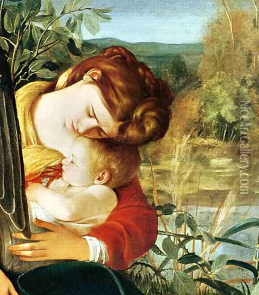 Rest on the Flight into Egypt, c.1603 Oil Painting - Caravaggio