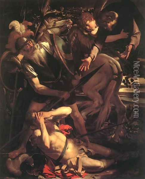 The Conversion of St. Paul Oil Painting - Caravaggio