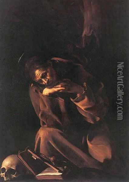 St. Francis Oil Painting - Caravaggio