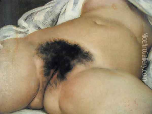 The origin of the world Oil Painting - Gustave Courbet