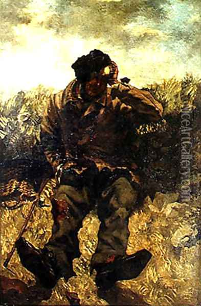 The Vagabond Oil Painting - Gustave Courbet