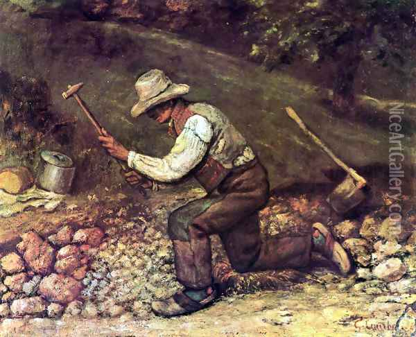 The Stone Breaker Oil Painting - Gustave Courbet