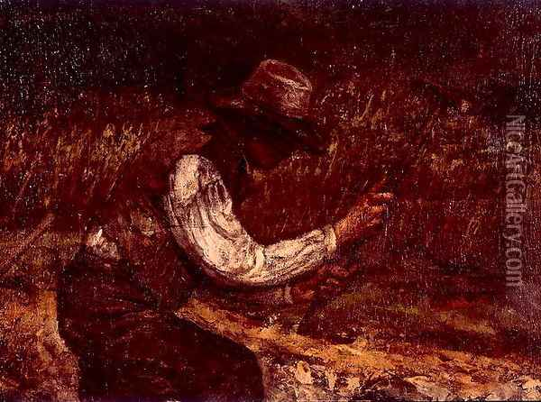 The Stonebreakers Oil Painting - Gustave Courbet