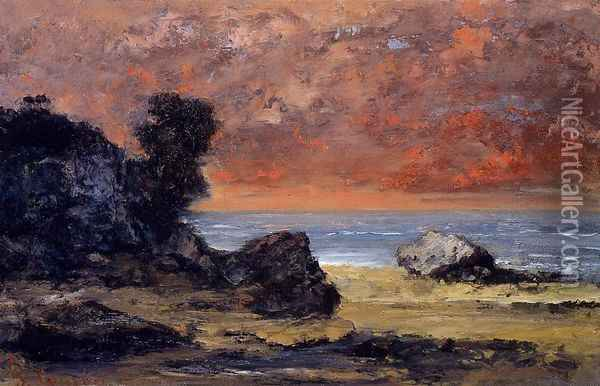 After the Storm Oil Painting - Gustave Courbet