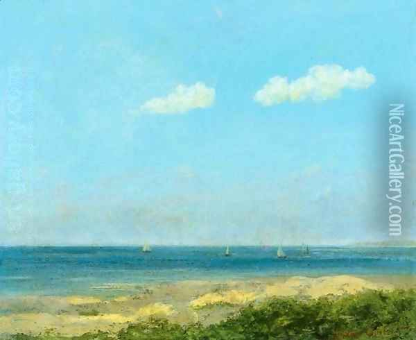 Paysage de mer Oil Painting - Gustave Courbet
