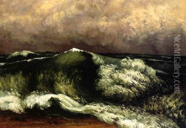 The Wave I Oil Painting - Gustave Courbet