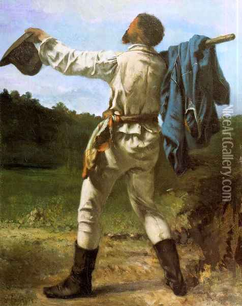 The Homecoming Oil Painting - Gustave Courbet