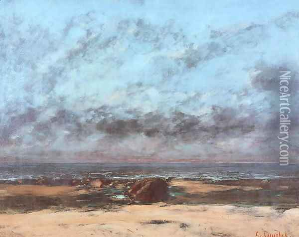 Eternity Oil Painting - Gustave Courbet