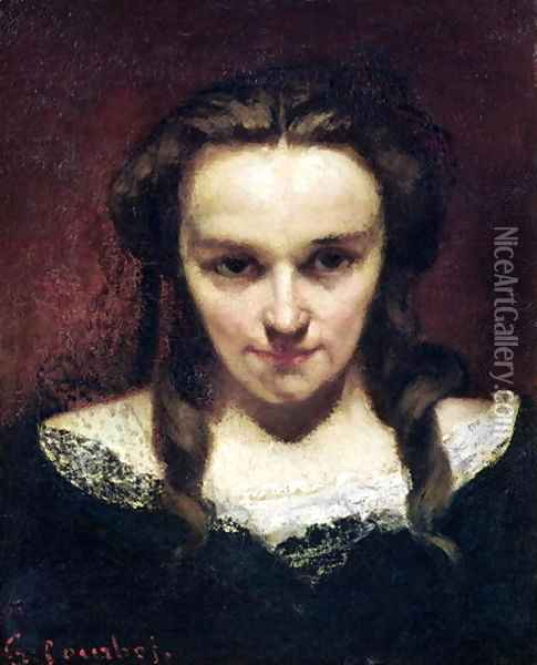 The Clairvoyant or, The Sleepwalker, c.1865 Oil Painting - Gustave Courbet