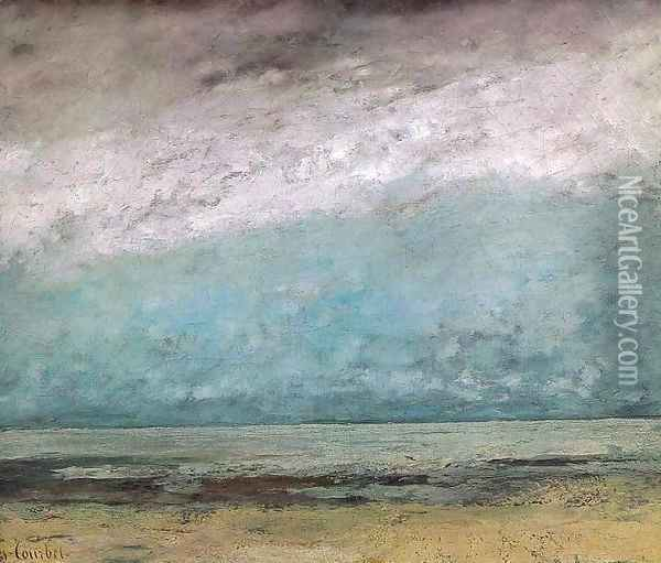 Seacoast 2 Oil Painting - Gustave Courbet