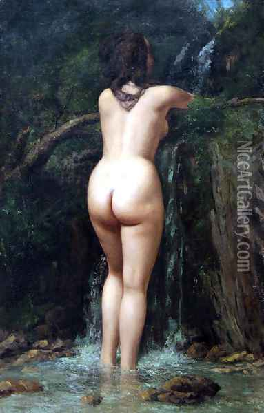 The Source Oil Painting - Gustave Courbet