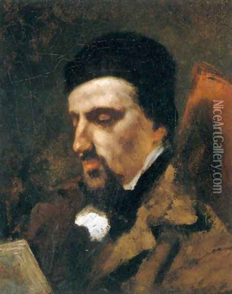 Portrait of Urbain Cuenot Oil Painting - Gustave Courbet