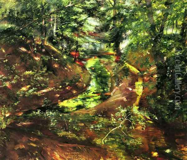 In the Woods near Bernried Oil Painting - Lovis (Franz Heinrich Louis) Corinth