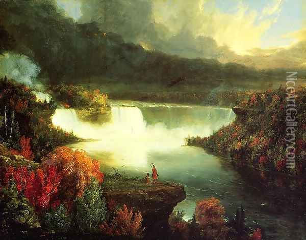 Niagara Falls, 1830 Oil Painting - Thomas Cole