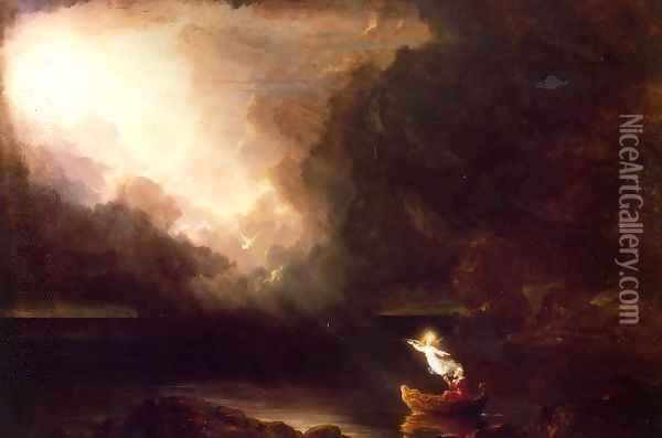 The Voyage of Life, Old Age Oil Painting - Thomas Cole