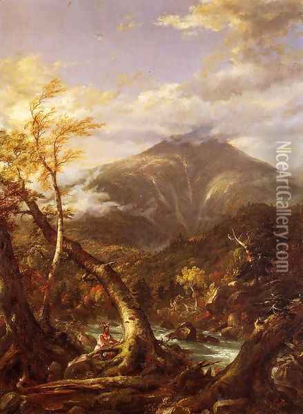 Indian Pass - Tahawus Oil Painting - Thomas Cole