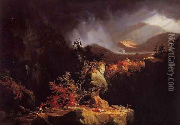 Gelyna Oil Painting - Thomas Cole